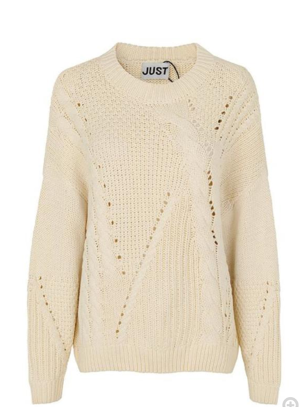 Just Female Via Knit