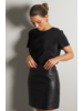 JUST FEMALE Moon Leather Skirt
