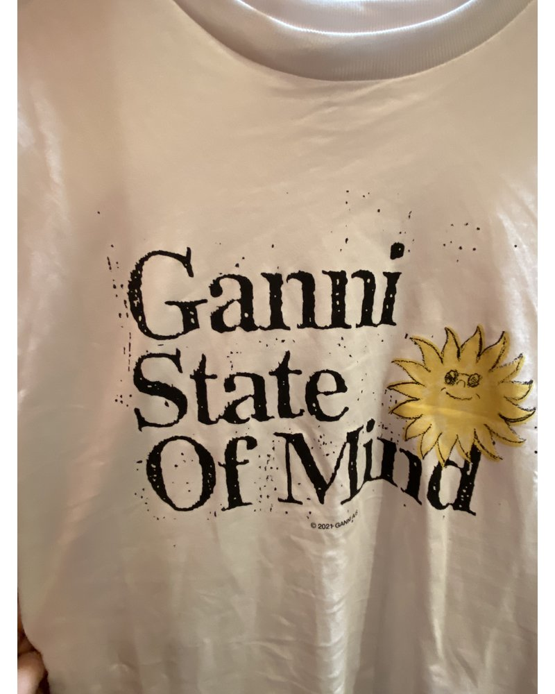 GANNI Basic Cotton Jersey T