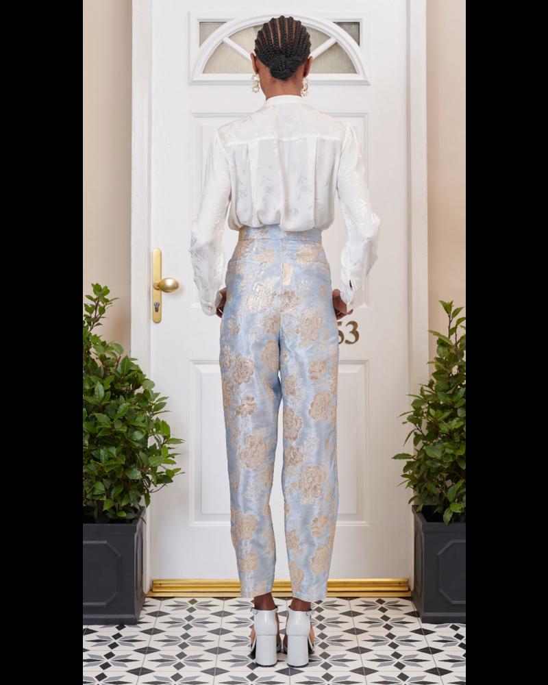Sister Jane Emblem Floral Peg Trouser