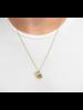 Miansai Tiger Eye Pendant Necklace