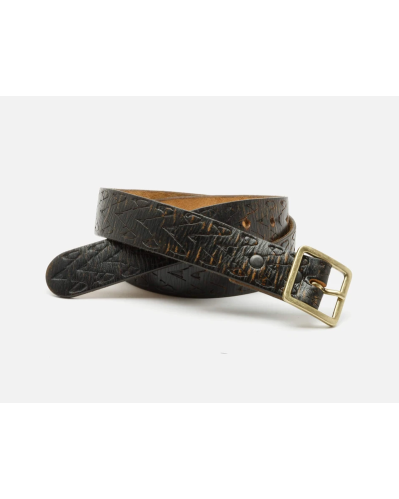 Re/Done Embossed Square Belt