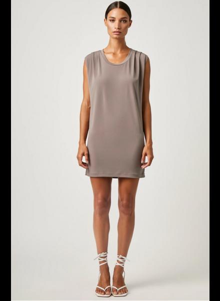 Lanston Pleated Mini Dress