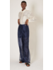 Ghospell Strategy Sheer Wide Leg Trouser