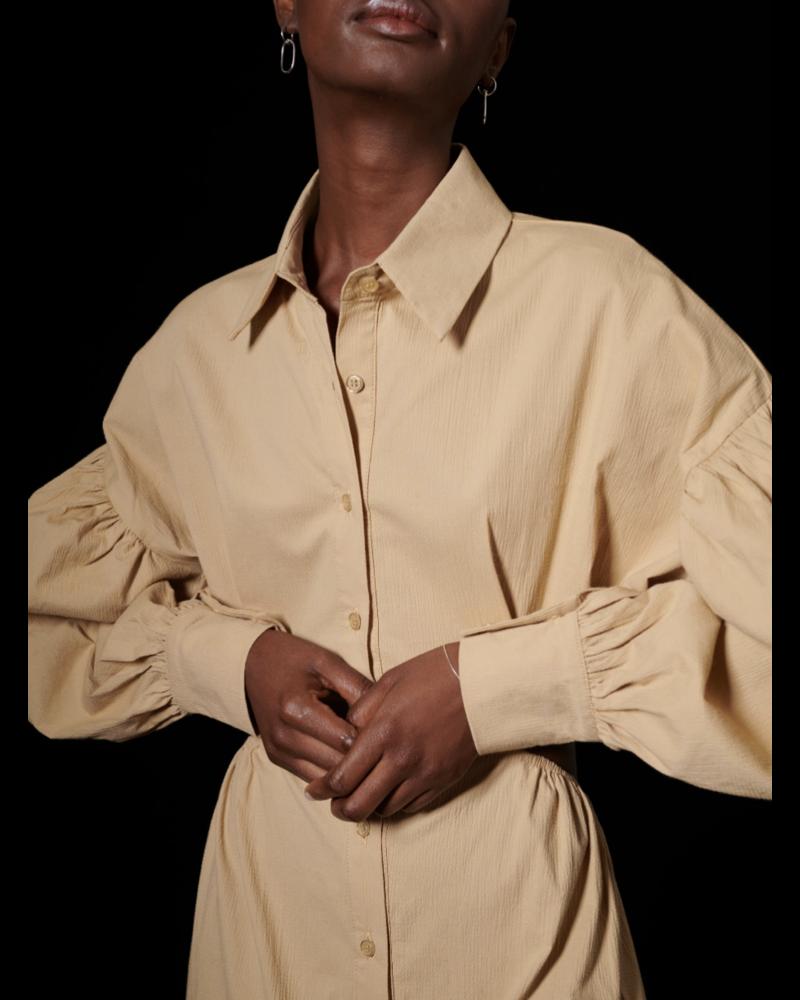 Ghospell Advantage Cut Out Shirt Dress