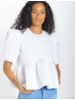 En Saison Quilted Babydoll Top