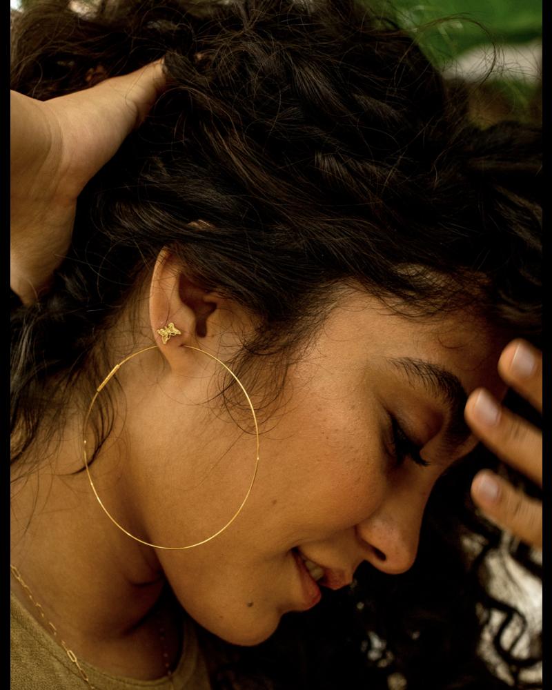 Jurate Harper Hoop Earring