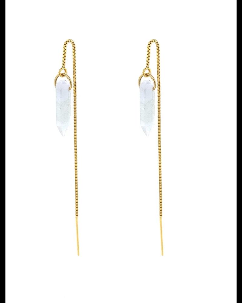 Jurate Moon Child Earrings
