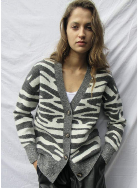 VL Zebra Cardigan