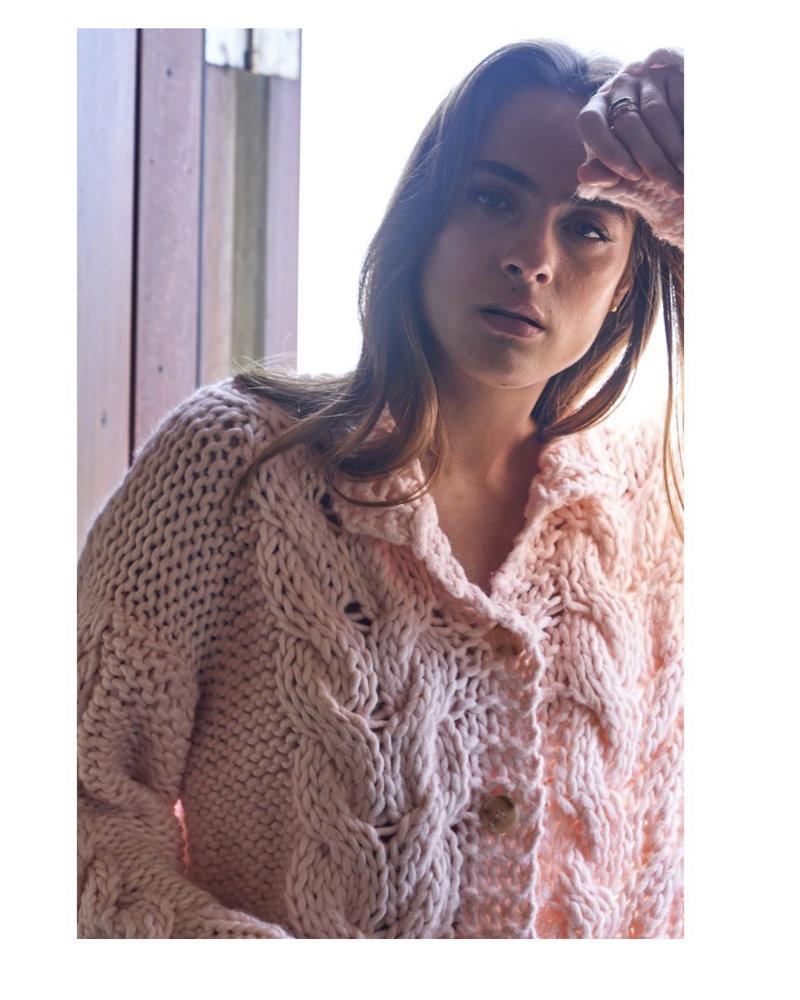 Little Lies Georgia Hand Knit Cardigan