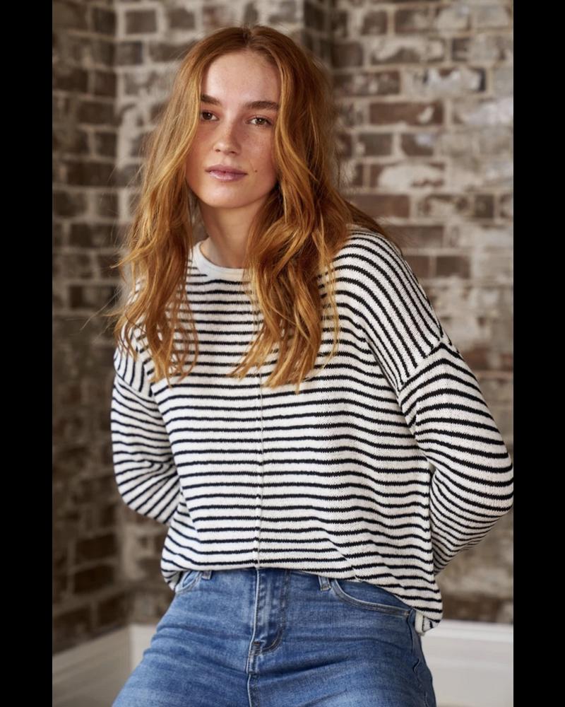Little Lies Stripey Days Knitted Top