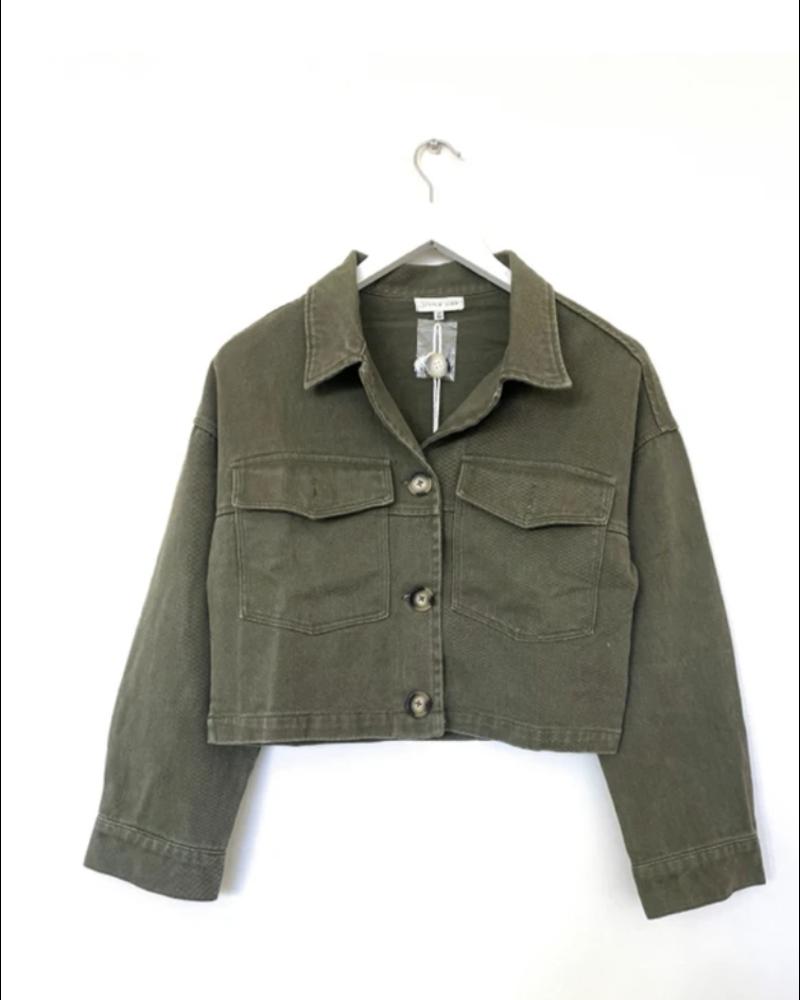 Little Lies Cropped Jacket