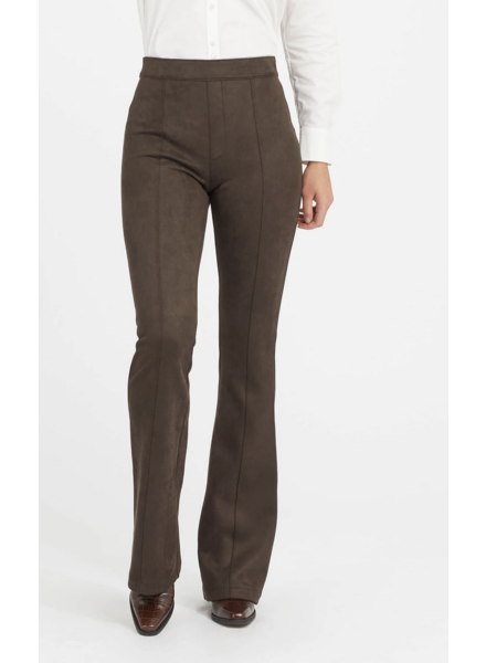 Spanx Faux Suede Flare Pant