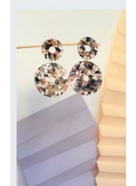 Apres Ski Scabiosa Earrings