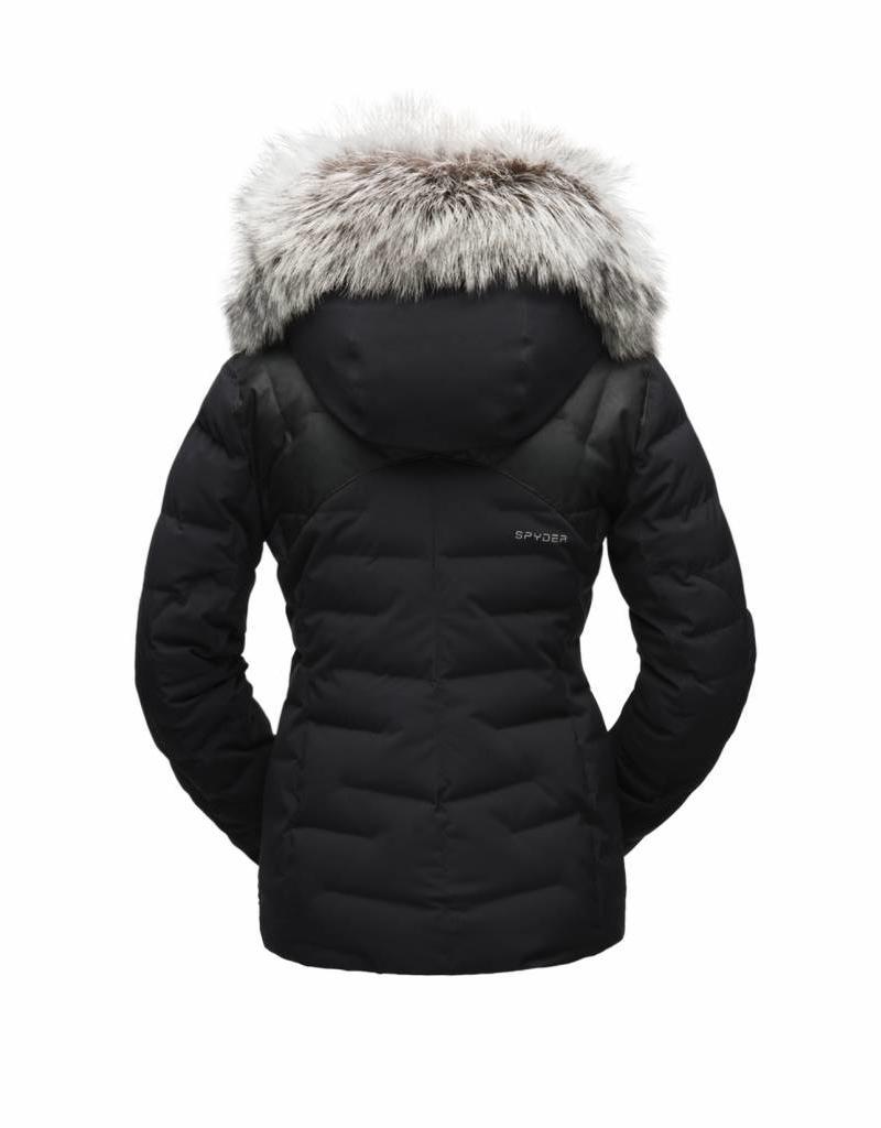 Spyder women's falline real fur