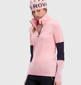 Mons Royale Mons Royale women cornice half zip