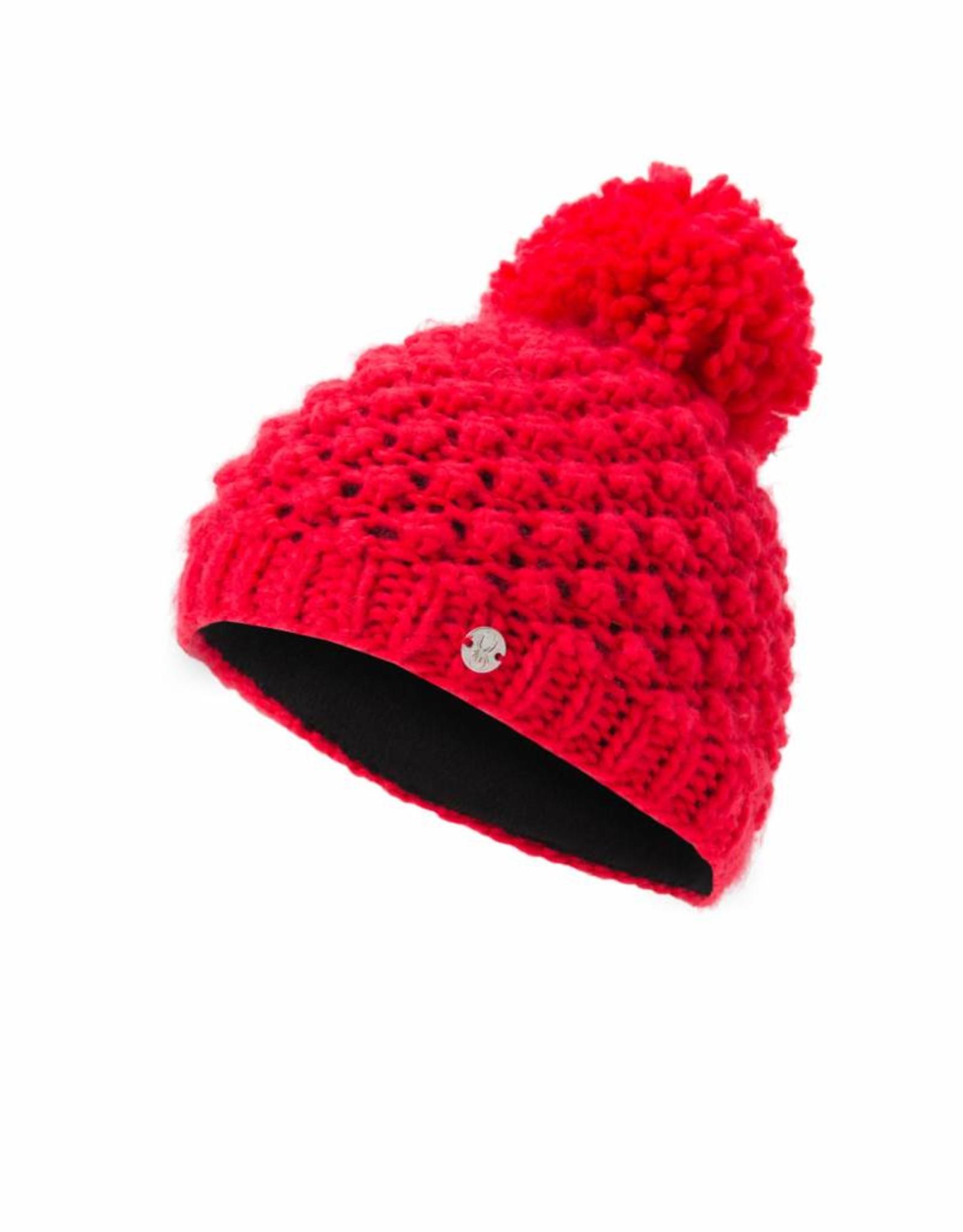 Spyder Girl's Bitsy Brrr Berry Hat JR