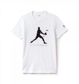 Lacoste Lacoste Djokovic T-Shirt White size 4