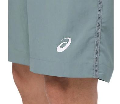 Asics Asics Tennis short gris bleu