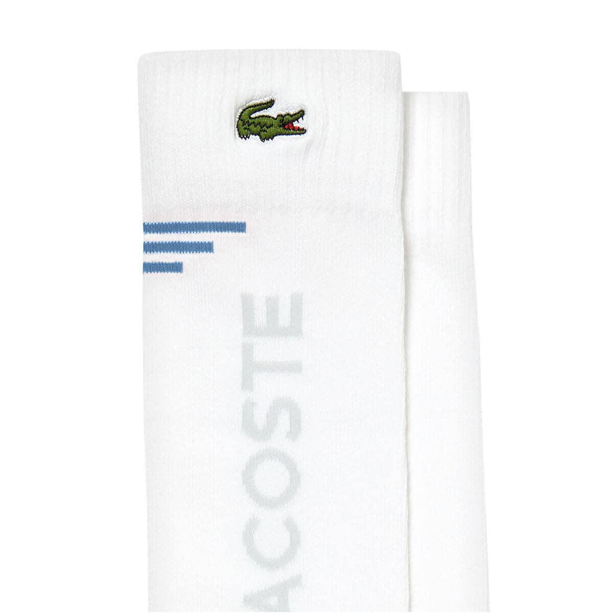 Lacoste Lacoste Socks White/Blue (8.5-12 US)
