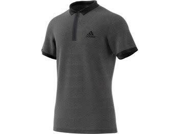 Adidas Adidas Men Polo Escouade Gris