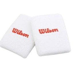 Wilson Wilson Wristband Double White