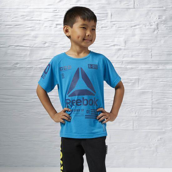 Reebok Reebok T-Shirt entrainement bleu grandeur très petit 7-8 ans