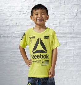 Reebok Reebok T-Shirt entrainement junior jaune grandeur 5-6 ans (XXS)