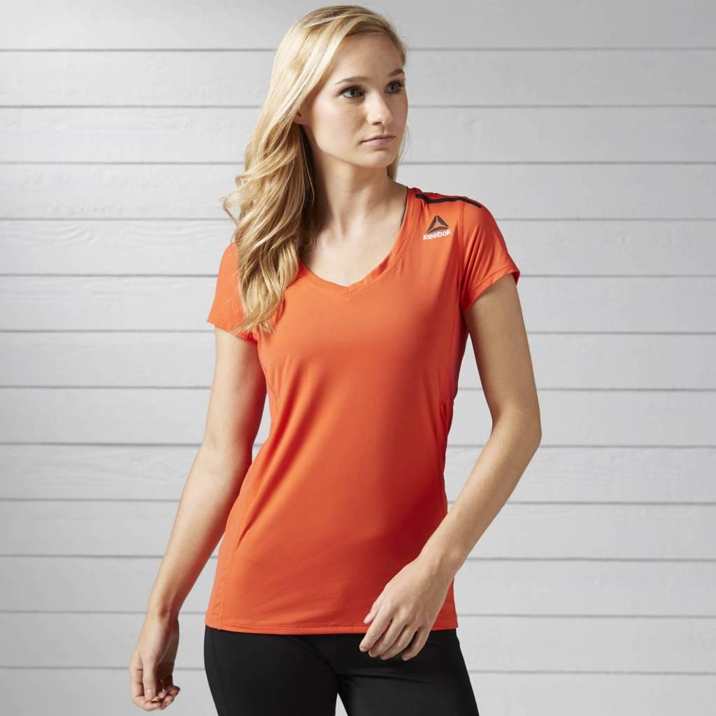 Reebok Reebok Women's One Series ActivChill Orange Tshirt