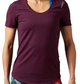 Reebok Reebok Women's Workour Ready Purple Tshirt