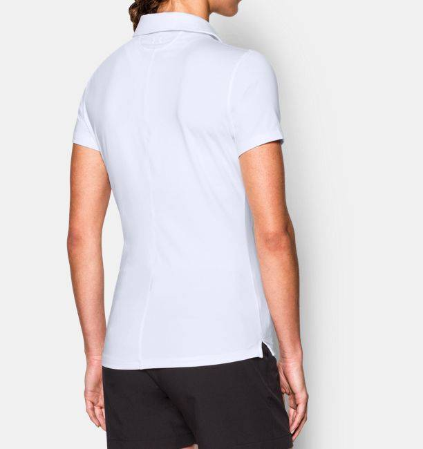 Under Armour Under Armour Women's Classic White Polo