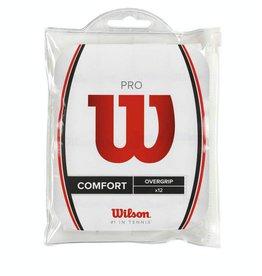 Wilson Overgrips pro comfort blanche (paquet de 12)