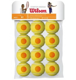 Wilson Wilson balles point orange (paquet de 12)