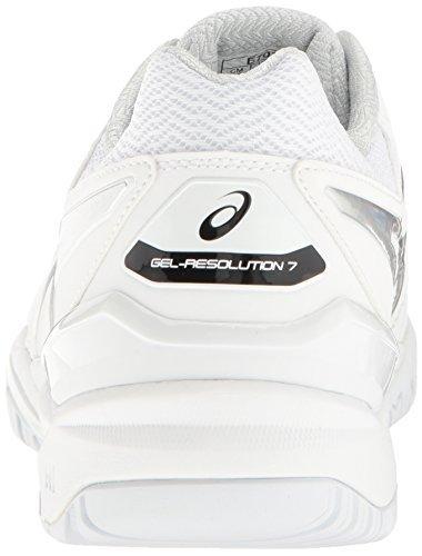 Asics Asics White Gel resolution 7 Size 6.5 LEFT
