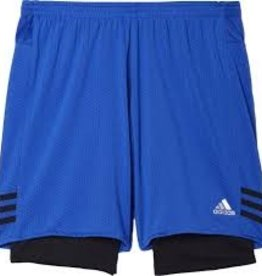 Adidas Adidas Men's Shorts 2 in 1 Dual (blue)