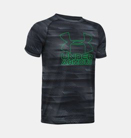 Under Armour Under Armour Boys' Big Logo Hybrid Printed Tshirt