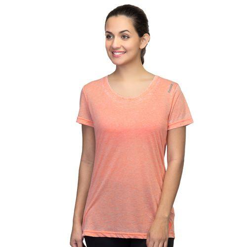 Reebok Reebok Women's Yoga Studio Orange Tshirt