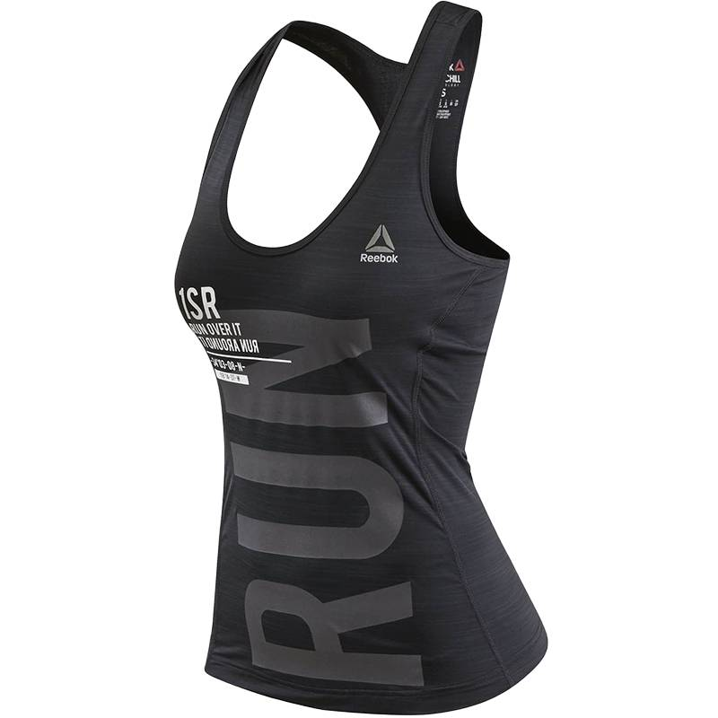 Reebok Reebok Women's Running Activchill Black Tank