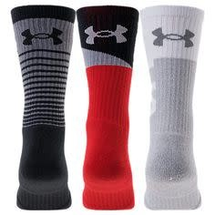Under Armour Under Armour Chaussettes Mi-Mollet UA performance 3 Paires