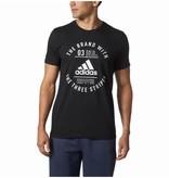 Adidas Adidas Emblématique three stripes chandail noir medium