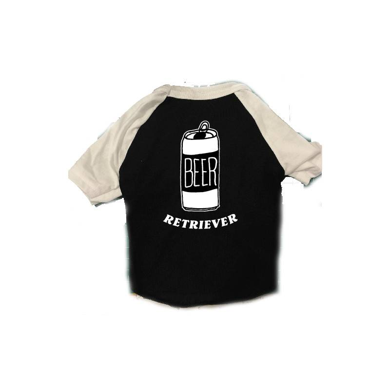 Beer Retriever Dog Raglan