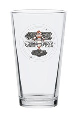 Space Camper Pint Glass