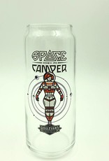 Space Camper 16oz Can Glass