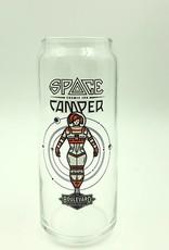 Space Camper 16oz Can Glass