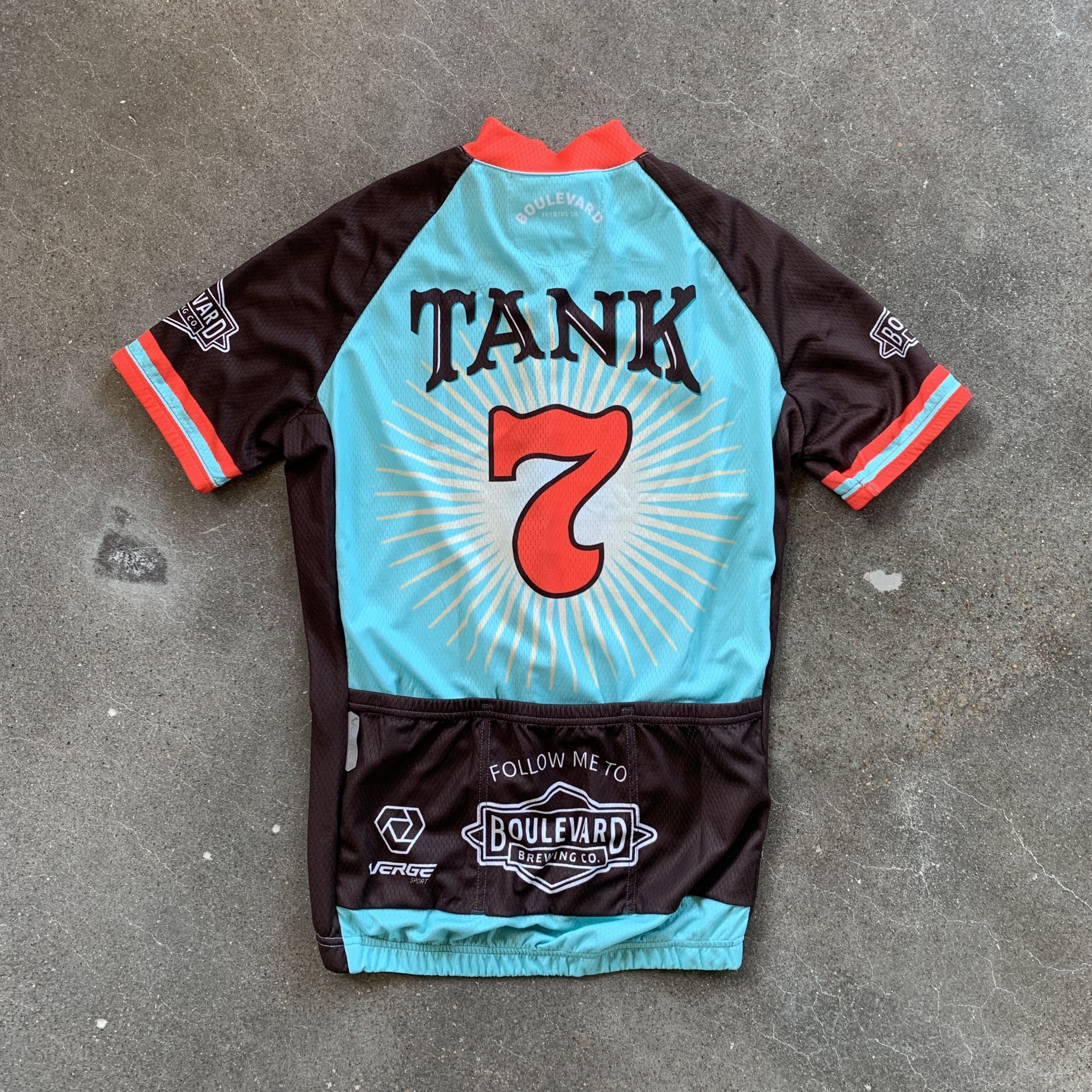 New Tank 7 Bicycle Jersey