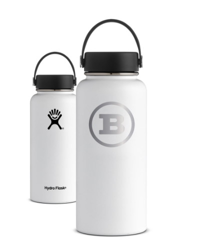 Hydro Flask 32oz White