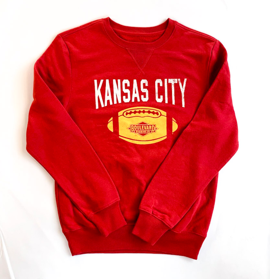 KC Football Supercrew Sweatshirt