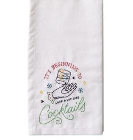 Cocktail Tea Towel