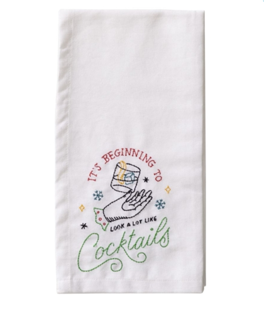 Cocktail Tea Towel