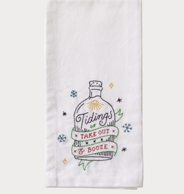 Good Tidings Tea Towel